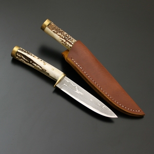 佐治武士 山野小刀型 ストレート SJ-12 シースナイフ