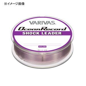 バリバス オーシャンレコード ショックリーダー 50m 24号/100lb ミスティーパープル