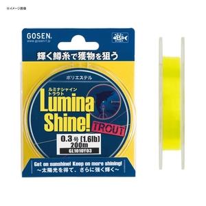 ゴーセン(GOSEN) ルミナシャイントラウト 200M GL1010Y02 ルアー用ポリエステルライン