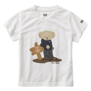HELLY HANSEN(ヘリーハンセン) HOJ61802 S/S Helly Bear Tee(キッズ) HOJ61802