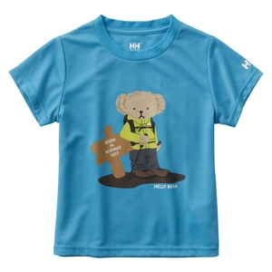 HELLY HANSEN(ヘリーハンセン) HOJ61802 S/S Helly Bear Tee(キッズ) HOJ61802
