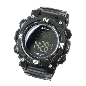 LAD WEATHER(ラドウェザー) SOLAR MASTER(ソーラーマスター) パワーソーラー搭載腕時計 lad039bkbk