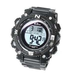 LAD WEATHER(ラドウェザー) SOLAR MASTER(ソーラーマスター) パワーソーラー搭載腕時計 lad039bkno