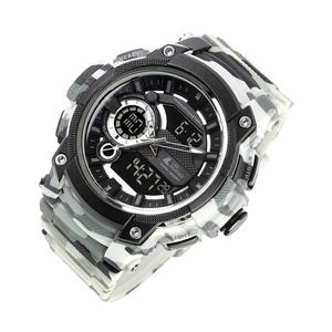 b8de436008 LAD WEATHER(ラドウェザー) ヴァリアントマスターII トリプルタイム搭載腕時計 lad043cmwh-bk ○アナログ○デジタル時刻表示○3時刻同時表示可能(アナログ1つ○  ...