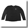 SCORON L/S T−Shirts (スコーロン ドライ 長袖シャツ)Mブラック
