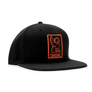 CHROME(クローム) SNAPBACK CAP フリー BLACKxORANGE AP138