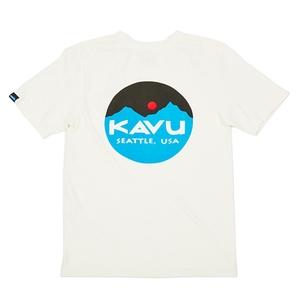 KAVU(カブー) 【21春夏】Mountain Logo Tee Men's(マウンテン ロゴ ティー メンズ) 19820422010007
