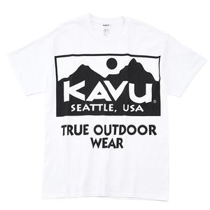 KAVU(カブー) ビッグロゴTEE