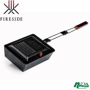 ファイヤーサイド(Fireside) シェイクポップ アウトドア用ポップコーンポッパー 2.8L ブラック 27100