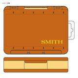 スミス(SMITH LTD) スミスリバーシブルMG D86オレンジ ルアー・ワーム用ケース