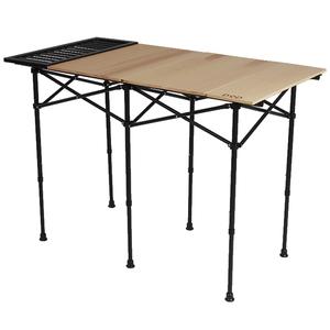 DOD(ディーオーディー) ソトデーチューボー キッチンロールテーブル TB6-588-BG キッチンテーブル