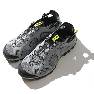 【送料無料】SALOMON(サロモン) FOOTWEAR TECHAMPHIBIAN 3 26.5cm QuarryxBkxAcid L40159600