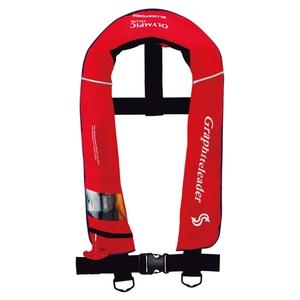 オリムピック(OLYMPIC) グラファイトリーダー ライフジャケット タイプA 遊漁船(釣り船)対応