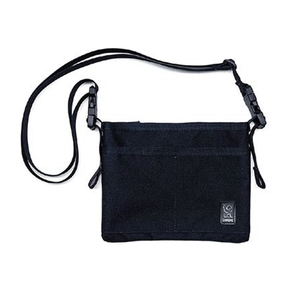 【送料無料】CHROME(クローム) MINI SHOULDER BAG BLACKxBLACK BG245BKBK