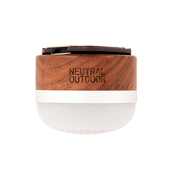 NEUTRAL OUTDOOR(ニュートラル アウトドア) NT-WL01 ウッドスピーカーランタン 36779 電池式