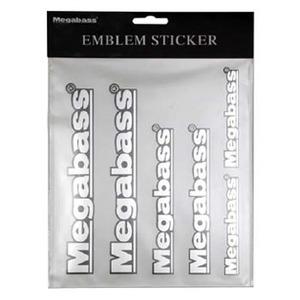 メガバス(Megabass) EMBLEM STICKER 00000039855