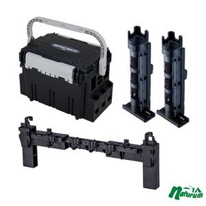 メイホウ(MEIHO) ★バケットマウスBM-5000+BM-250 Light 2本組+マルチハンガーBMの4点セット★ ボックスタイプ