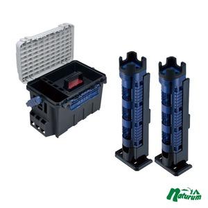 メイホウ(MEIHO) ★バケットマウス BM-9000+ロッドスタンド BM-300 Light2本組セット★ ボックスタイプ