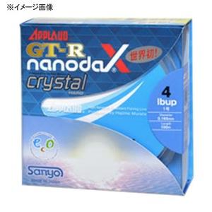 サンヨーナイロン GT-R nanodaX Crystal Hard 300m 8lb クリスタルクリアー