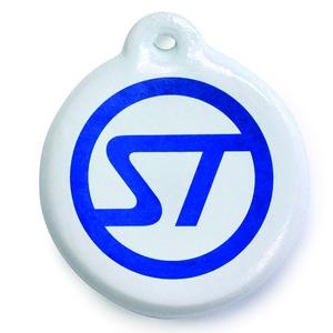 STREAM TRAIL(ストリームトレイル) フローティング キーチェーン ST WHITE
