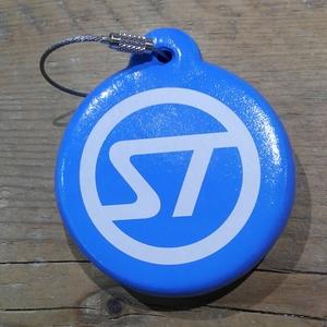 STREAM TRAIL(ストリームトレイル) フローティング キーチェーン ST BLUE