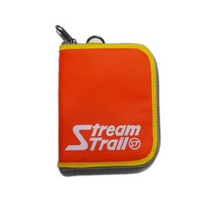 STREAM TRAIL(ストリームトレイル) SD ZIP WALLET(SD ジップ ウォレット) FIRE×オレンジ