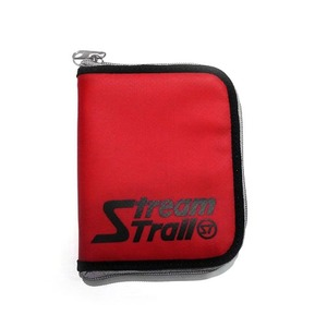 STREAM TRAIL(ストリームトレイル) SD ZIP WALLET(SD ジップ ウォレット) CHILLI×レッド