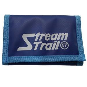 STREAM TRAIL(ストリームトレイル) SD TRIFOLD WALLET(エスディー トリフォルド ウォレット) AZURE×ブルー