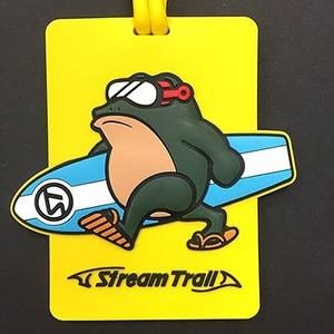 STREAM TRAIL(ストリームトレイル) NAME TAG DAVE SURF(ネームタグ デーブ サーフ) YELLOW