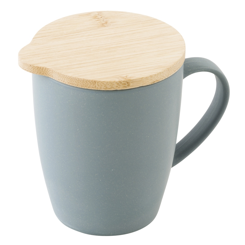 ニュートピア(NEWTOPIA) 蓋つきバンブーマグカップ NTP2036