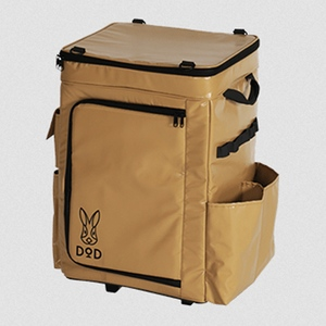 DOD(ディーオーディー) バベコロ キャスター付きクーラーボックス CL1-590-TN キャンプクーラー50~99リットル