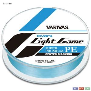 モーリス(MORRIS) VARIVAS アバニ ライトゲーム スーパープレミアムPE X4 中間マーキング 150m 0.2号/5lb ナチュラルブルー