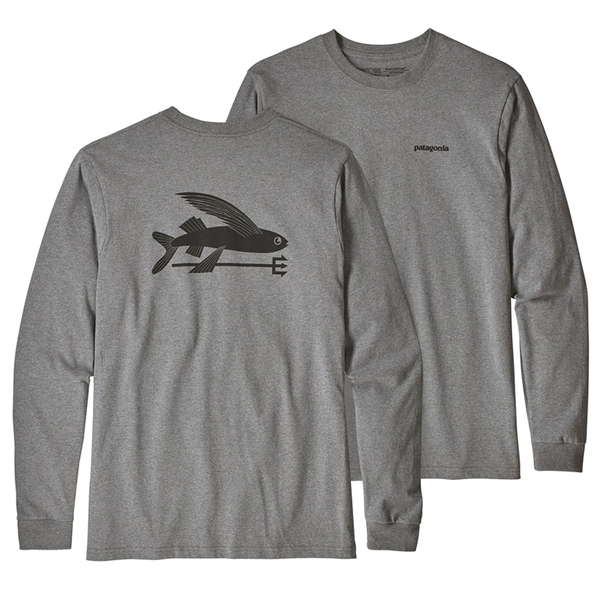 パタゴニア(patagonia) ロングスリーブ フライング フィッシュ レスポンシビリティー Men's 39346 メンズ長袖Tシャツ