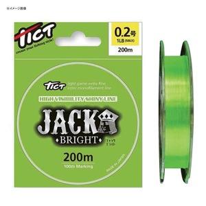 TICT(ティクト) ジャック・ブライト 200m 0.5号 ブライトライムグリーン