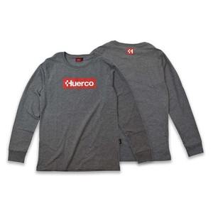 【送料無料】フエルコ(Huerco) CORDURA ロングスリーブTシャツ M ヘザーグレー 111076