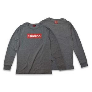【送料無料】フエルコ(Huerco) CORDURA ロングスリーブTシャツ XL ヘザーグレー 111090