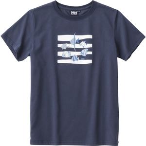 HELLY HANSEN(ヘリーハンセン) HE61837 S/S トロピカルフィッシュTシャツ Women's HE61837 レディース速乾性半袖Tシャツ