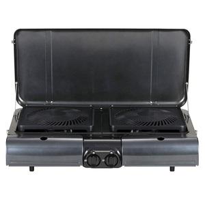 イワタニ産業(Iwatani) テーブルトップ型BBQグリル フラットツイングリル CB-TBG-1