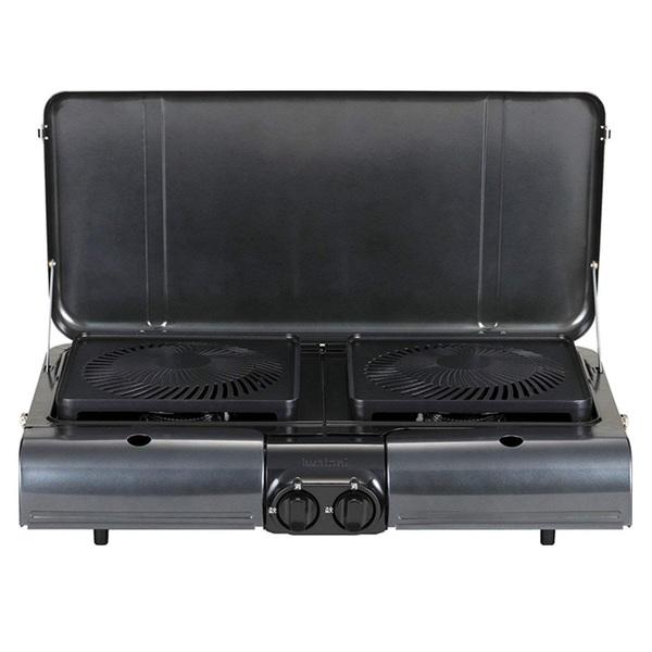 イワタニ産業(Iwatani) テーブルトップ型BBQグリル フラットツイングリル CB-TBG-1 BBQコンロ(卓上タイプ)