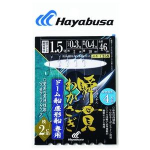 ハヤブサ(Hayabusa) 瞬貫わかさぎ ドーム船 細地袖 4本 C258