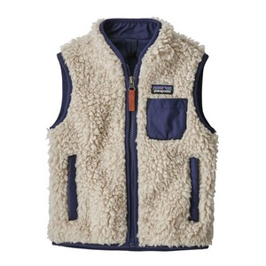 パタゴニア(patagonia) Baby Retro-X Vest(ベビー レトロX ベスト) 61035 ジャケット(ジュニア・キッズ・ベビー)