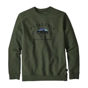 パタゴニア(patagonia) アーチド フィッツロイ ベア アップライザル クルー スウェットシャツ Men's 39544 メンズセーター&トレーナー