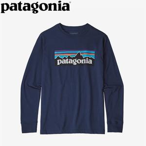パタゴニア(patagonia) ロングスリーブ グラフィック オーガニック Tシャツ Boy's 62229 長袖(ジュニア・キッズ・ベビー)