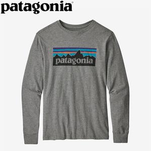 パタゴニア(patagonia) ロングスリーブ グラフィック オーガニック Tシャツ Boy's 62229