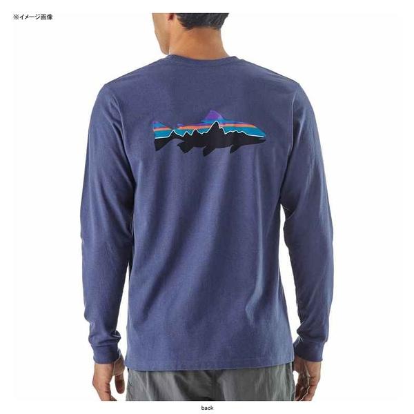 パタゴニア(patagonia) メンズ ロングスリーブ フィッツロイ トラウト レスポンシビリティー 39160 メンズ長袖Tシャツ