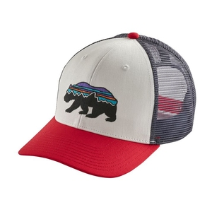 パタゴニア(patagonia) Fitz Roy Bear Trucker Hat(フィッツロイ ベア トラッカー ハット) オール WHI(White) 38200