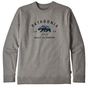 【送料無料】パタゴニア(patagonia) M's Arched Fitz Roy Bear Uprisal Crew Sweatshirt S GLH 39544