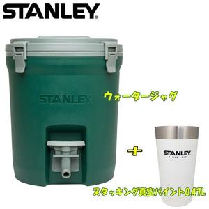 STANLEY(スタンレー) 【数量限定】ウォータージャグ+スタッキング真空パイント0.47L 01938-004 ウォータータンク、ジャグ