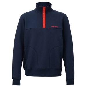 Marmot(マーモット) Sweat Snap Shirt(スウェットスナップシャツ) Men's TOMMJB64