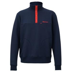 Marmot(マーモット) Sweat Snap Shirt(スウェットスナップシャツ) Men's TOMMJB64 メンズセーター&トレーナー